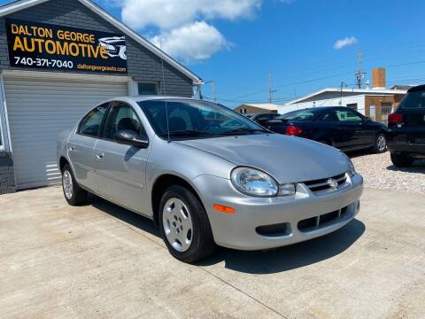 2002 Dodge Neon for sale at Dalton George Automotive in Marietta OH