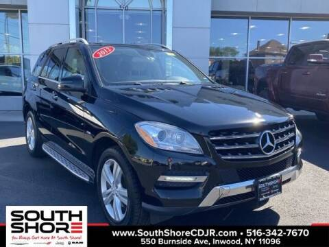 2012 Mercedes-Benz M-Class for sale at South Shore Chrysler Dodge Jeep Ram in Inwood NY