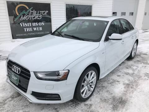 2016 Audi A4 for sale at HILLTOP MOTORS INC in Caribou ME