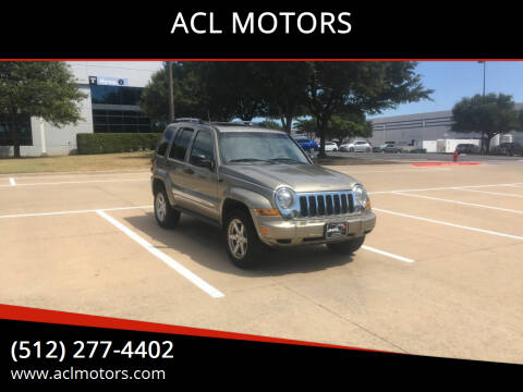 2005 Jeep Liberty for sale at ACL MOTORS in Austin TX