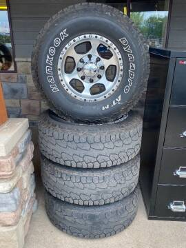 """2008 HANKOOK & ULTRA 16"""" WHEELS WITH TIRES for sale at Affordable Auto Sales in Cambridge MN"""