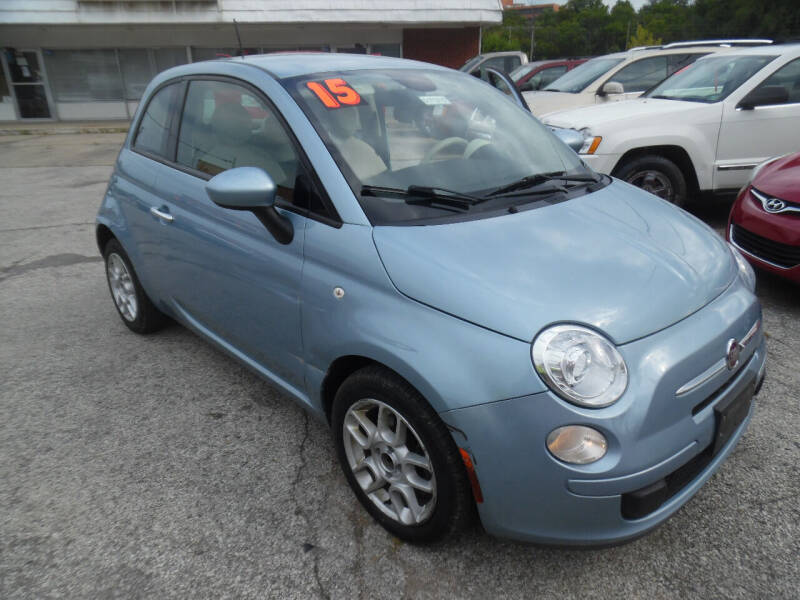 2015 FIAT 500 for sale at VEST AUTO SALES in Kansas City MO
