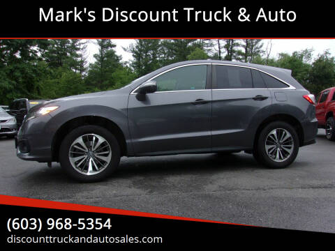 2017 Acura RDX for sale at Mark's Discount Truck & Auto in Londonderry NH
