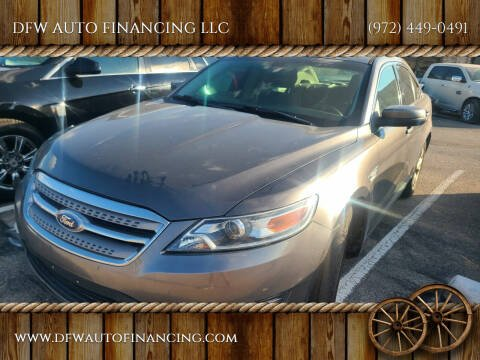 2012 Ford Taurus for sale at DFW AUTO FINANCING LLC in Dallas TX