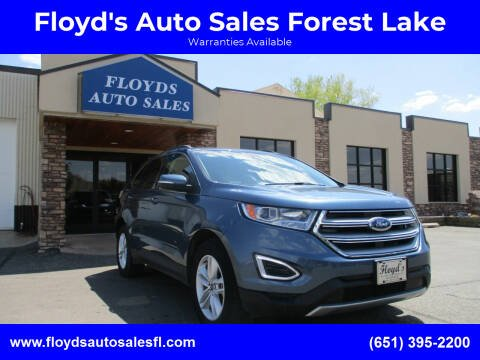 2018 Ford Edge for sale at Floyd's Auto Sales Forest Lake in Forest Lake MN