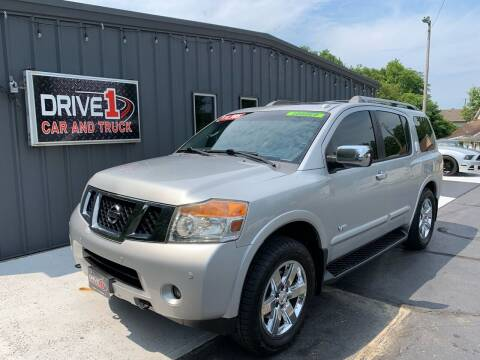 2009 Nissan Armada for sale at Drive 1 Car & Truck in Springfield OH