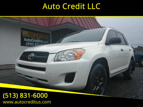 2010 Toyota RAV4 for sale at Auto Credit LLC in Milford OH