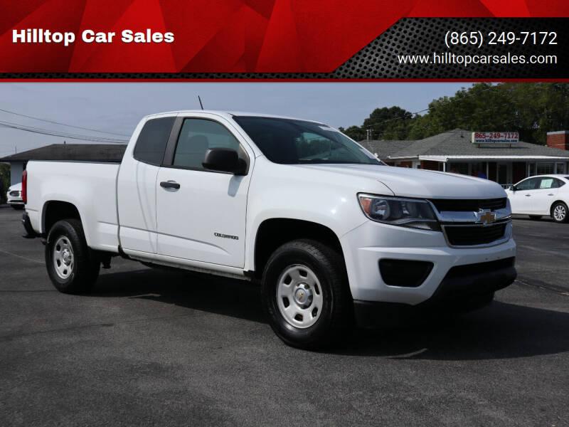 2015 Chevrolet Colorado for sale at Hilltop Car Sales in Knox TN