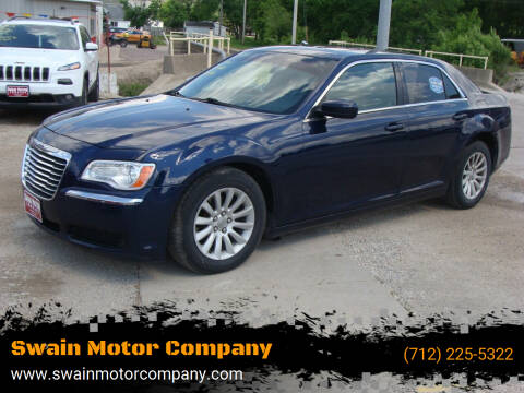 2014 Chrysler 300 for sale at Swain Motor Company in Cherokee IA