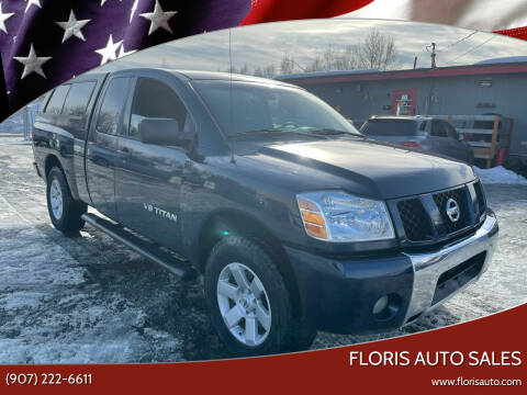 2008 Nissan Titan for sale at FLORIS AUTO SALES in Anchorage AK