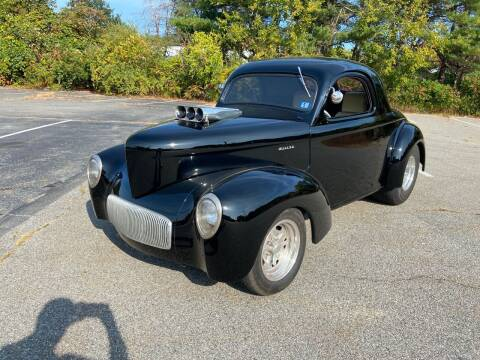 1941 Willys Coupe for sale at Clair Classics in Westford MA