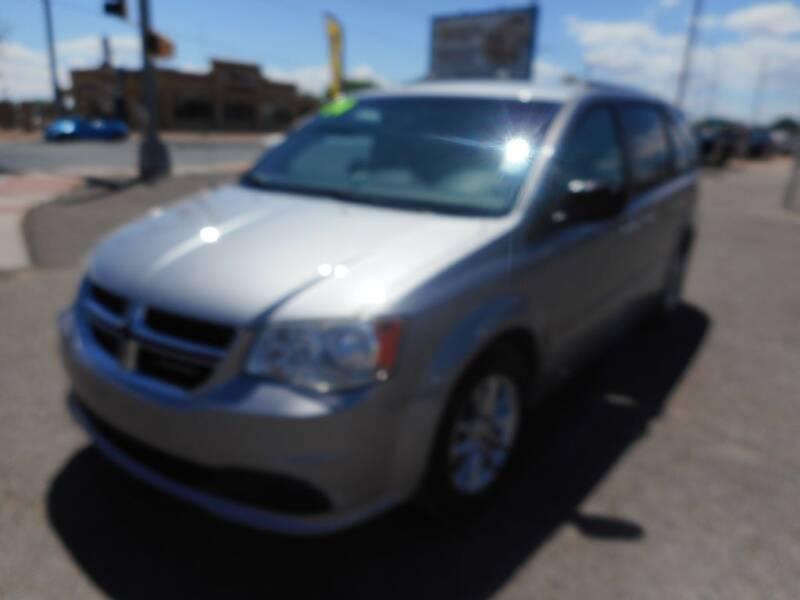 2014 Dodge Grand Caravan for sale at AUGE'S SALES AND SERVICE in Belen NM