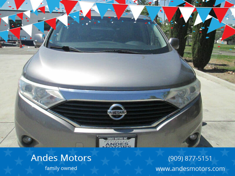 2013 Nissan Quest for sale in Bloomington, CA