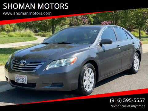 2009 Toyota Camry Hybrid for sale at SHOMAN MOTORS in Davis CA