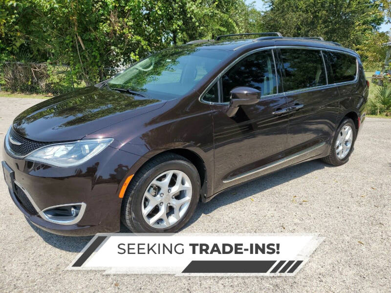 2017 Chrysler Pacifica for sale at Brocker Autos in Humble TX