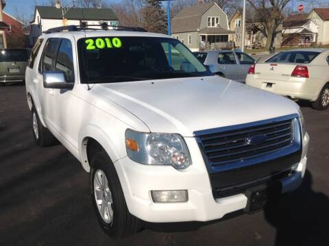 2010 Ford Explorer for sale at Sindic Motors in Waukesha WI