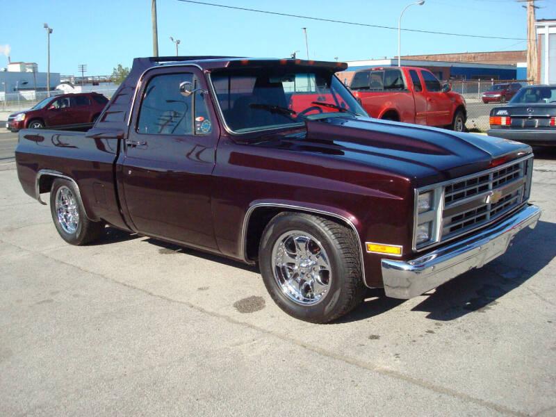 1985 Chevrolet C/K 10 Series for sale at Bob Fox Auto Sales in Port Huron MI