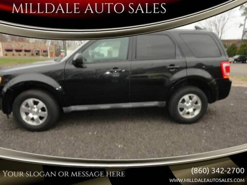 2011 Ford Escape for sale at MILLDALE AUTO SALES in Portland CT