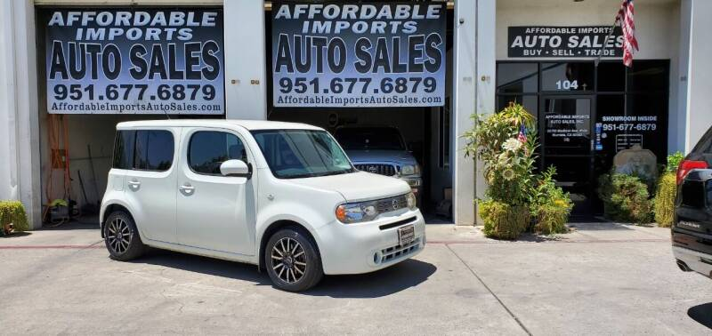 2011 Nissan cube for sale at Affordable Imports Auto Sales in Murrieta CA