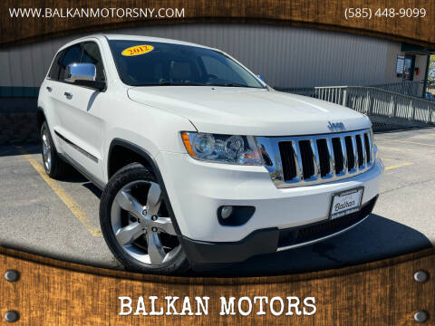 2012 Jeep Grand Cherokee for sale at BALKAN MOTORS in East Rochester NY