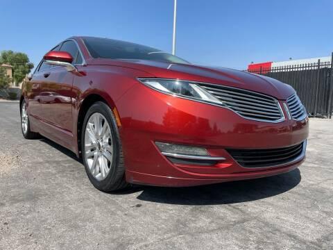 2014 Lincoln MKZ for sale at Boktor Motors in Las Vegas NV