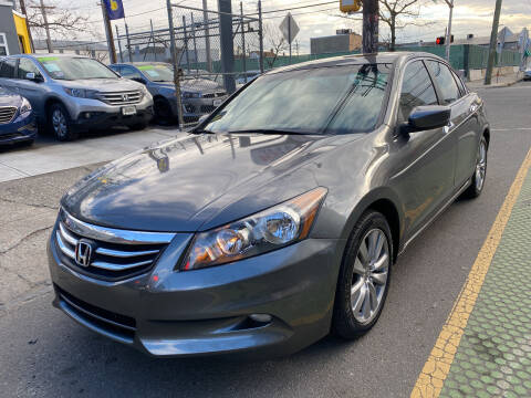 2012 Honda Accord for sale at DEALS ON WHEELS in Newark NJ