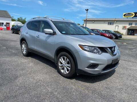 2015 Nissan Rogue for sale at Riverside Auto Sales & Service in Portland ME