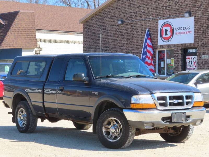 2000 Ford Ranger for sale at Big Man Motors in Farmington MN