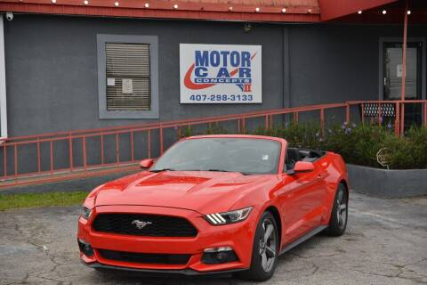 2016 Ford Mustang for sale at Motor Car Concepts II - Kirkman Location in Orlando FL