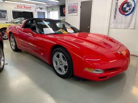 1999 Chevrolet Corvette for sale at Kar Kraft in Gilford NH