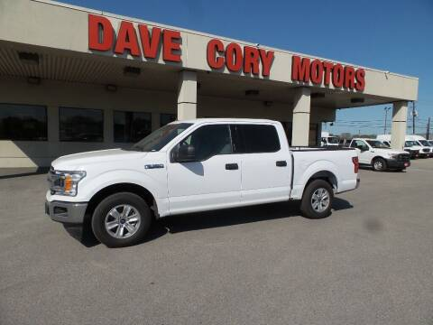 2020 Ford F-150 for sale at DAVE CORY MOTORS in Houston TX