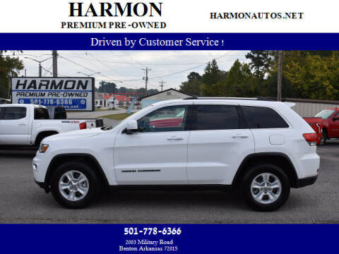 2017 Jeep Grand Cherokee for sale at Harmon Premium Pre-Owned in Benton AR