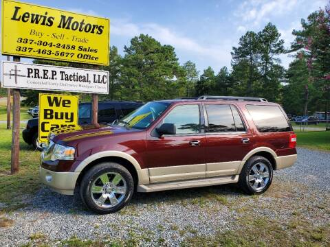 2010 Ford Expedition for sale at Lewis Motors LLC in Deridder LA