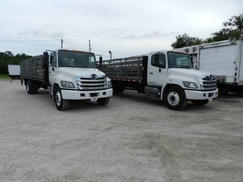 2017 Hino 268 for sale at DEBARY TRUCK SALES in Sanford FL