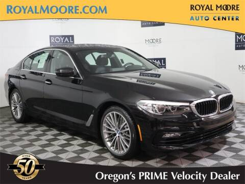 2018 BMW 5 Series for sale at Royal Moore Custom Finance in Hillsboro OR