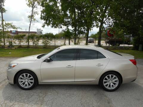 2015 Chevrolet Malibu for sale at Discount Auto Mart LLC in Houston TX