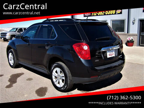 2010 Chevrolet Equinox for sale at CarzCentral in Estherville IA