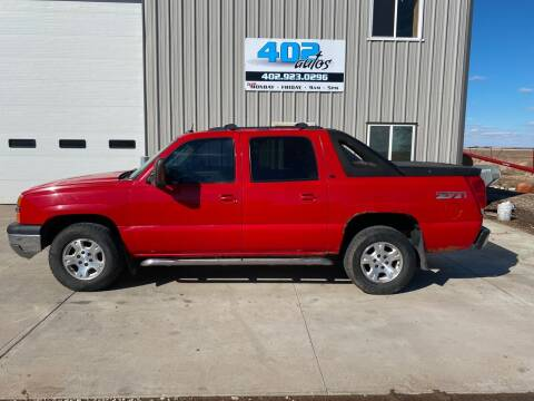2005 Chevrolet Avalanche for sale at 402 Autos in Lindsay NE