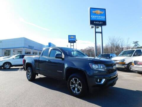 2017 Chevrolet Colorado for sale at Radley Cadillac in Fredericksburg VA