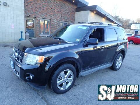 2012 Ford Escape for sale at S & J Motor Co Inc. in Merrimack NH