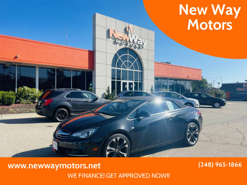 2016 Buick Cascada for sale at New Way Motors in Ferndale MI