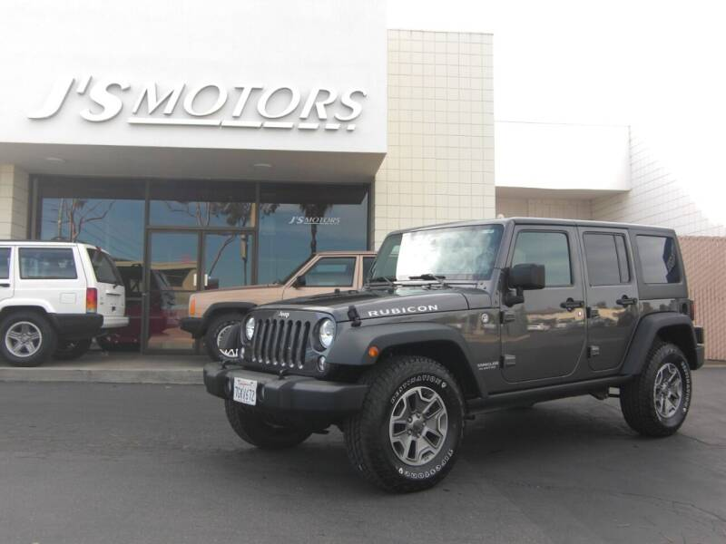 2014 Jeep Wrangler Unlimited for sale at J'S MOTORS in San Diego CA
