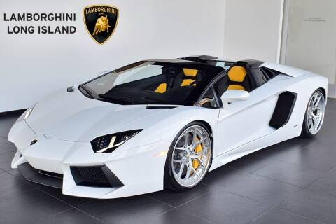 2016 Lamborghini Aventador for sale at Bespoke Motor Group in Jericho NY