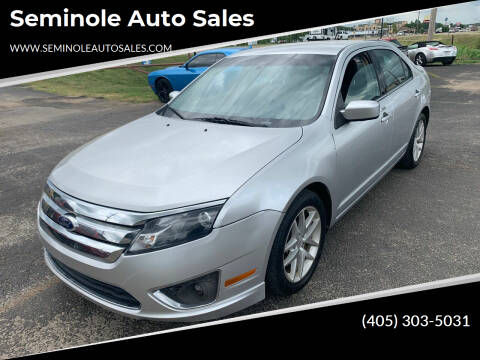 2011 Ford Fusion for sale at Seminole Auto Sales in Seminole OK