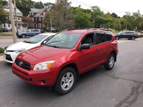 2008 Toyota RAV4 for sale at Regans Automotive Inc in Auburndale MA