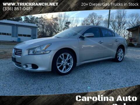 2014 Nissan Maxima for sale at Carolina Auto Sales in Trinity NC