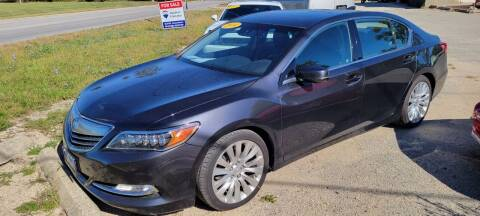 2014 Acura RLX for sale at AMAZING AUTO SALES in Marengo IL