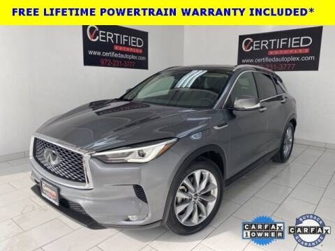 2019 Infiniti QX50 for sale at CERTIFIED AUTOPLEX INC in Dallas TX