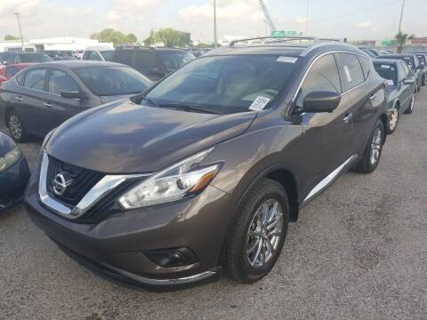 2015 Nissan Murano for sale at AUTO ALLIANCE LLC in Miami FL