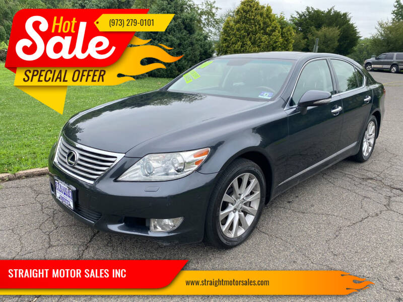 2010 Lexus LS 460 for sale at STRAIGHT MOTOR SALES INC in Paterson NJ